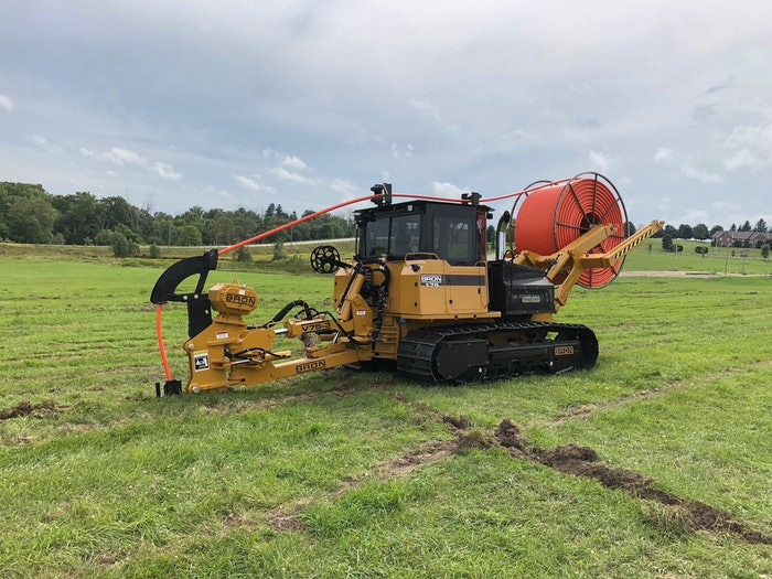 BRON utility track plow