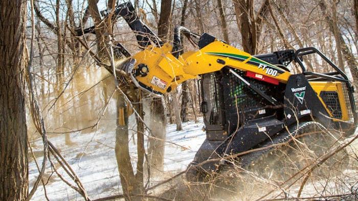 Vermeer FT100 forestry mulching tractor