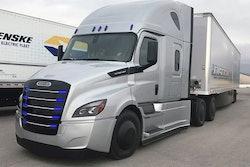 freightliner eCascadia semi truck