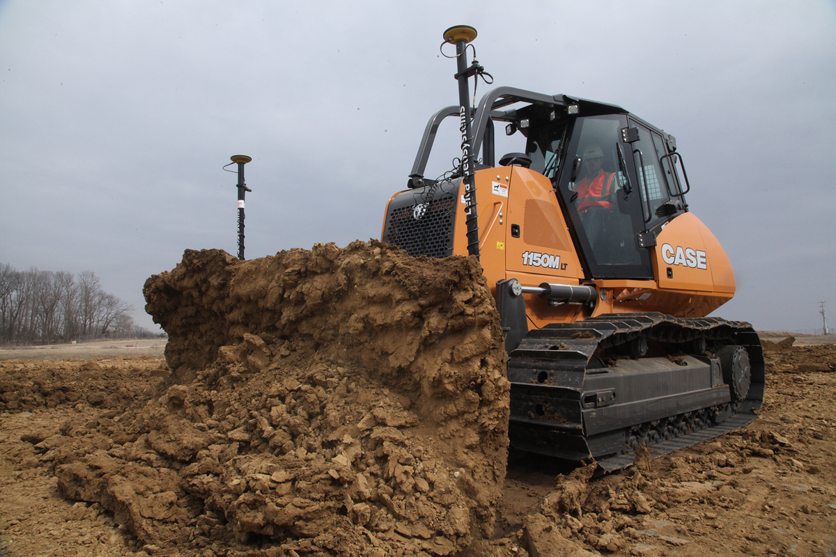 Finance Both Dozer and Machine Control with Case's Factory-Fit Option