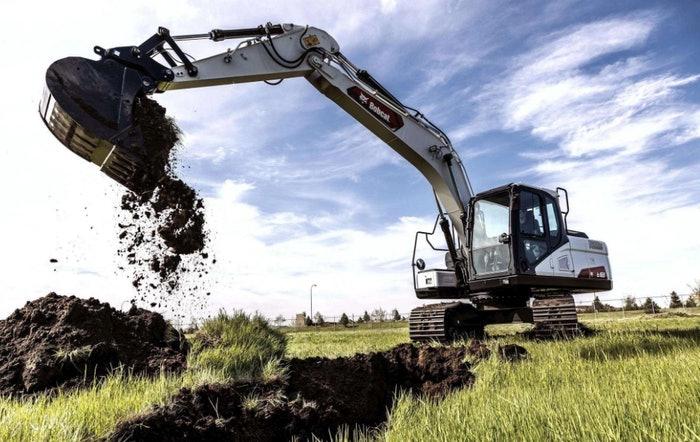 Doosan bobcat excavator