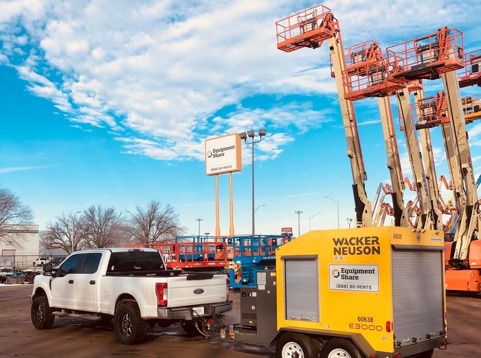 EquipmentShare for heavy equipment rental