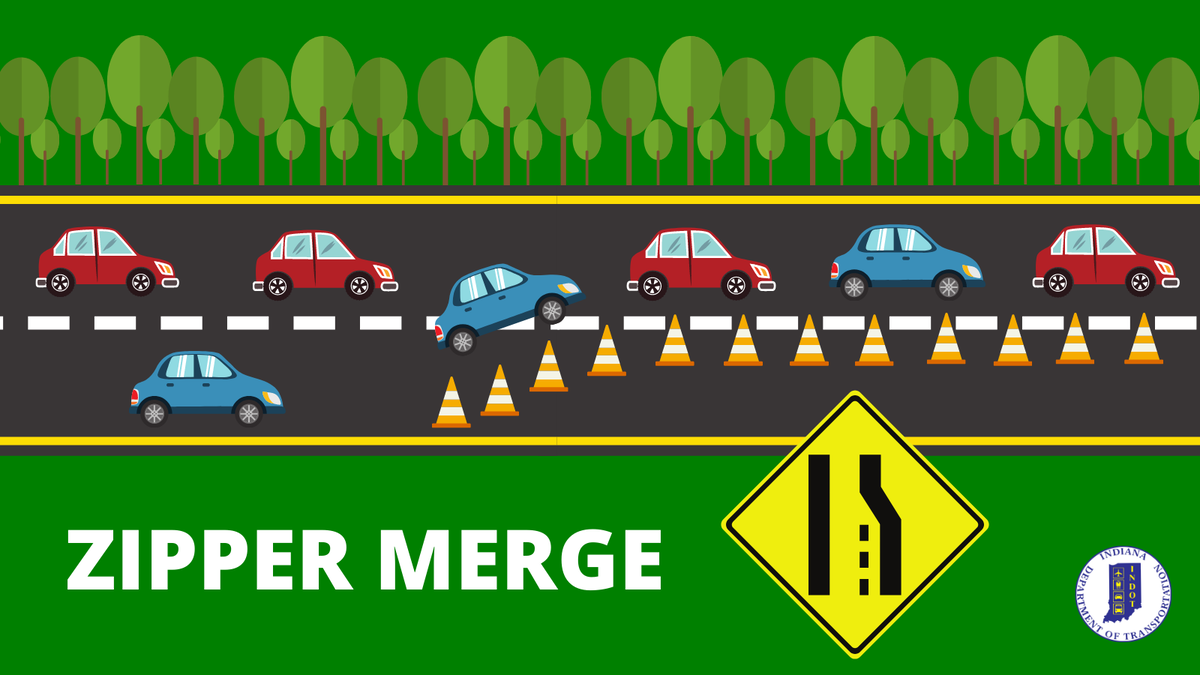Zipper Up: More States Using This Merging Method for Safer Work Zones