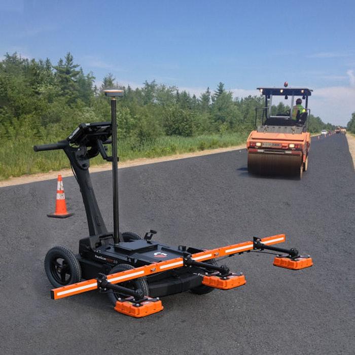 GSSI PaveScan asphalt density assessment tool