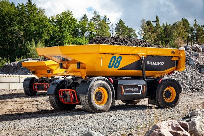 Volvo autonomous hauler TA15