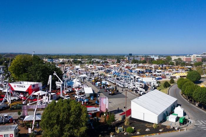 aeriel view of ICUEE 2019