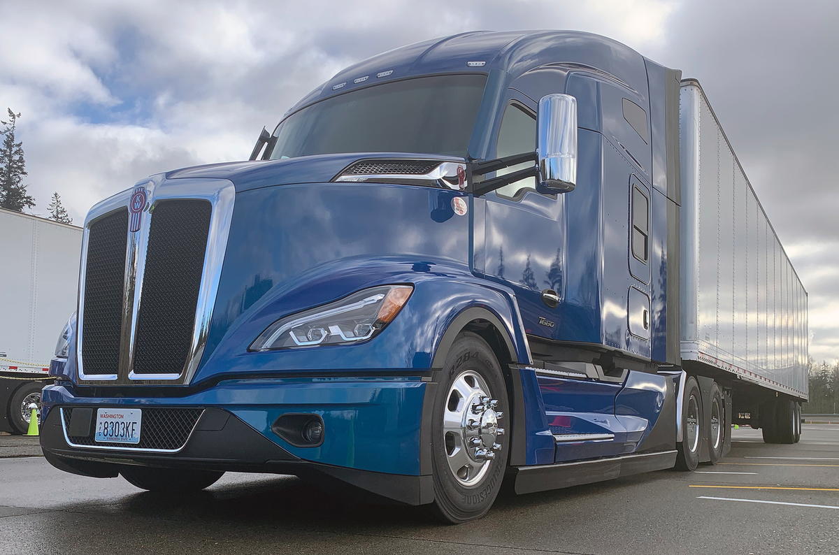 Test Drive: The New Kenworth T680 Gets a Makeover