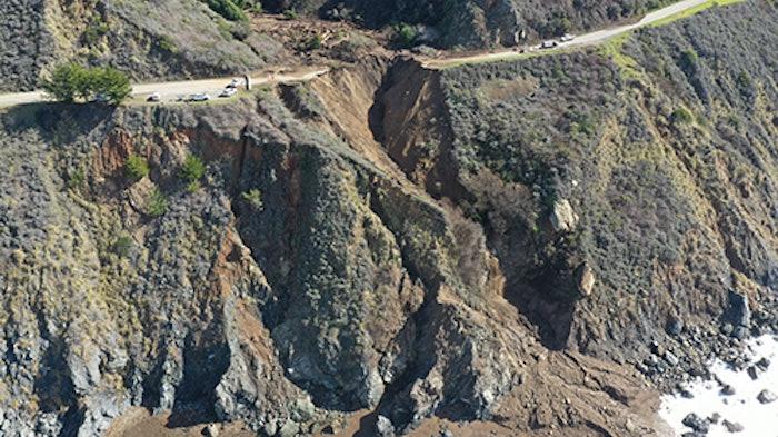 big sur highway 1 mudslide