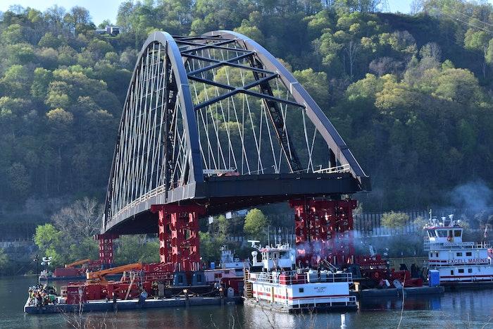 wellsburg bridge float