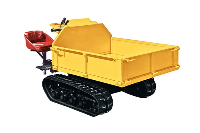 yanmar first tracked carrier