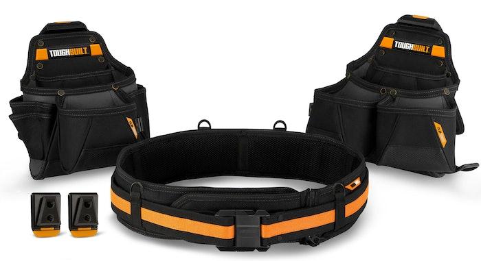Tradesman tool belt set