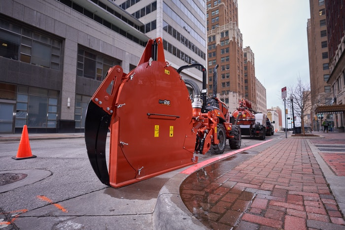 Ditch Witch microtrencher