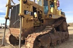Cat D9L before rebuild