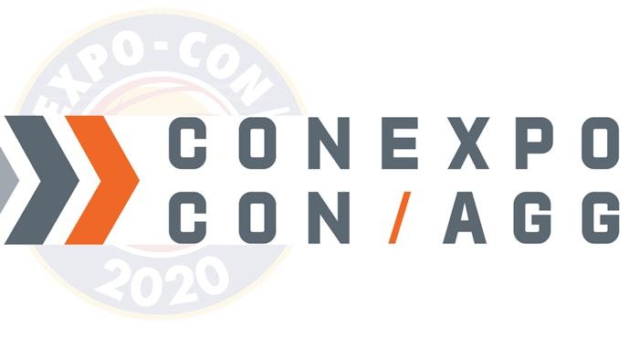 new conexpo logo over old logo