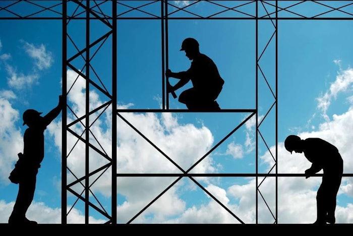 construction workers on jobsite