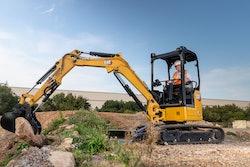 Cat 303 excavator