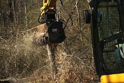 Cat forestry mulcher