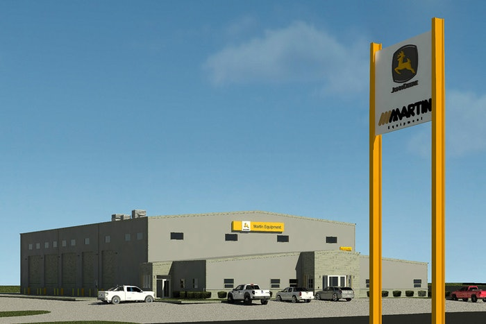 Martin Equipment's new Columbia, Missouri, facility will be fully open by next spring.