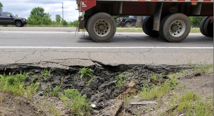 Michigan I-275 Deterioration