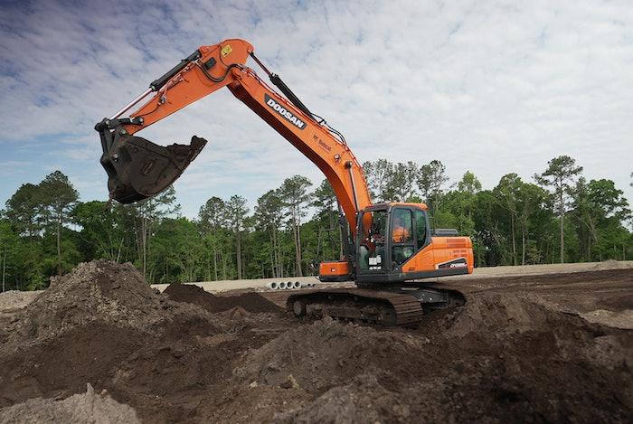 doosan excavator