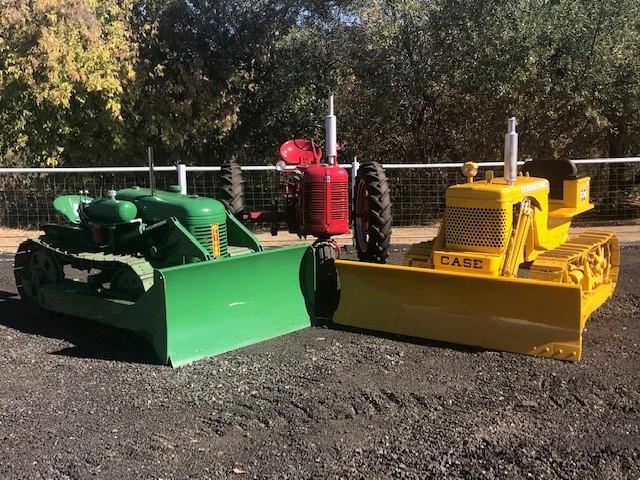 Restored antique tractors Havemann family