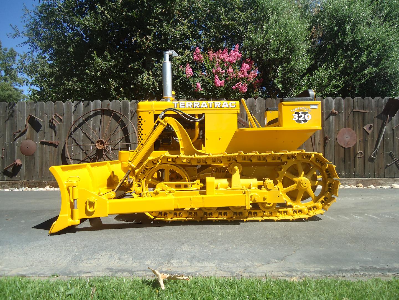 Case Terratrac 320 restored