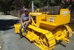 Case Terratrac 320 dozer restored Casey Havemann