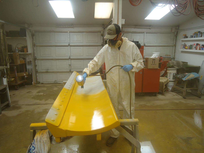 Case terratrac 320 dozer blade paint