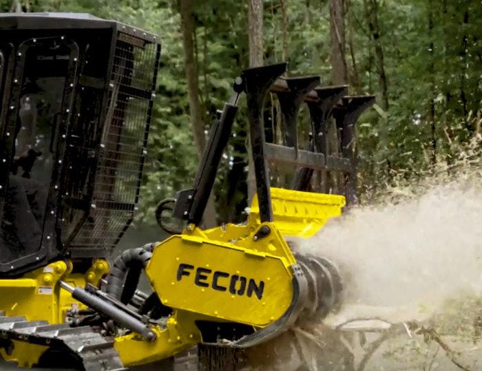 Fecon 225VTS mulching tractor