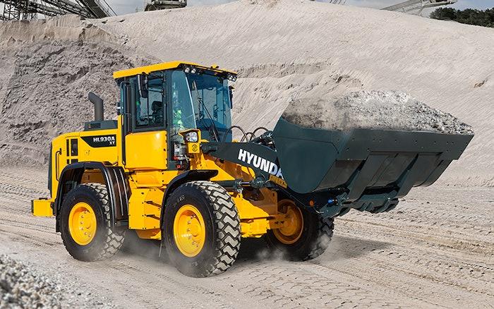 Hyundai HL930A wheel loader