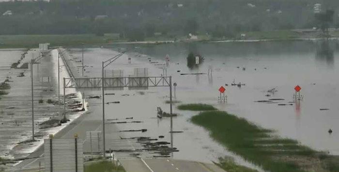 Iowa flood asphalt resilience