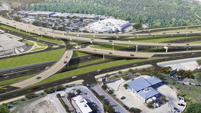 Oak Hill Parkway rendering