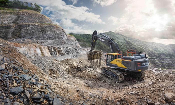 Volvo EC550E Excavator