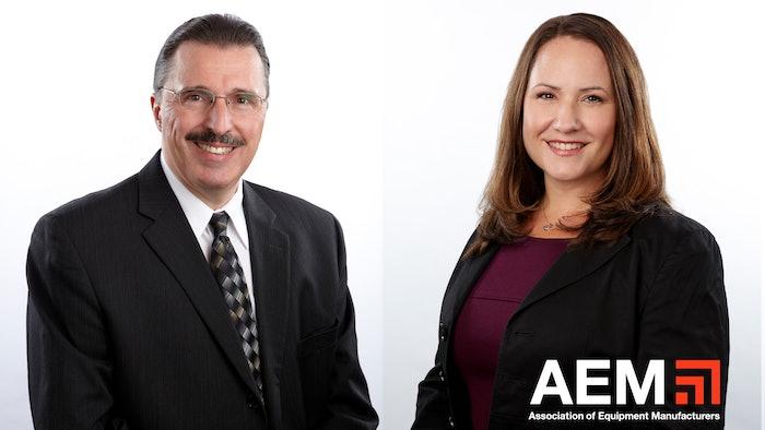 Dennis Slater and Megan Tanel