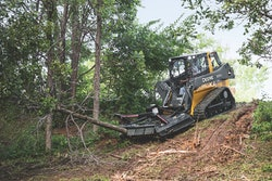 John Deere brush cutter landclearing attachment