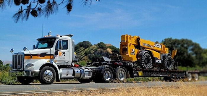 h&s equipment truck