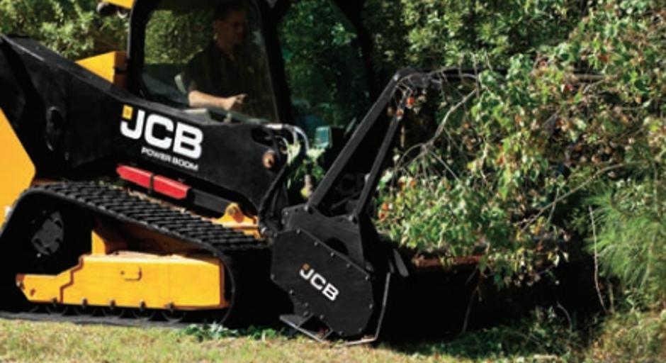 JCB forestry cutting head