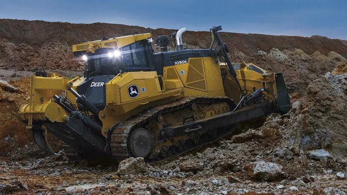 John Deere rising construction equipment demand