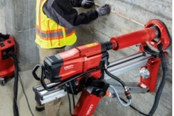Hilti autonomous drilling system