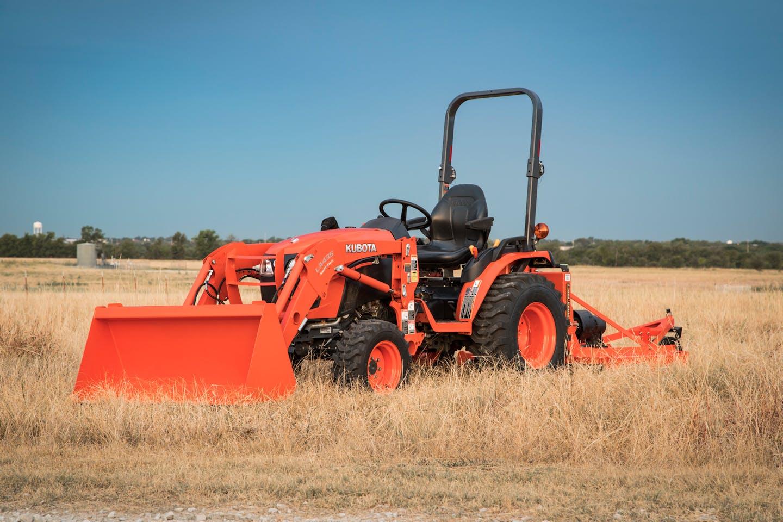 Kubota utility tractor
