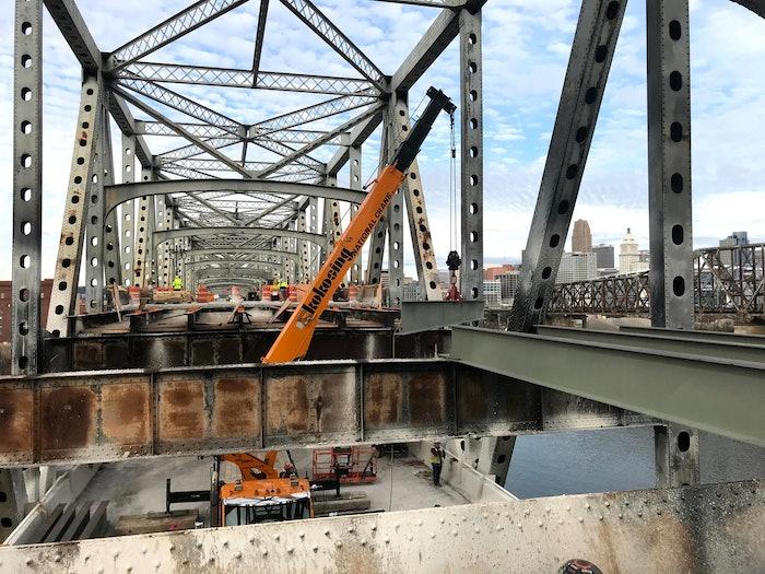 Brent Spence Bridge emergency repair