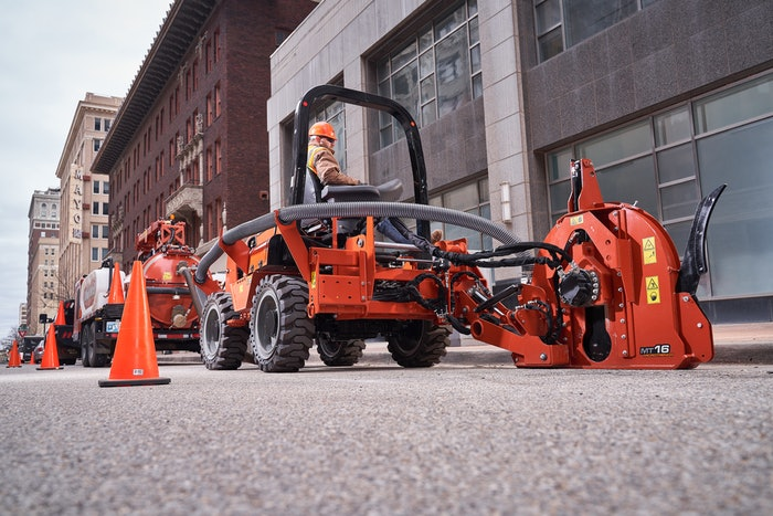 Ditch Witch's RT70 ride-on trencher