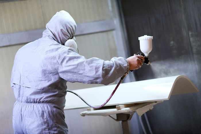Construction Equipment Painting