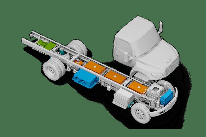 International eMV med duty truck