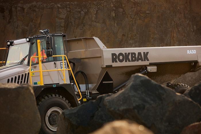 Rokbak - Hauler in Quarry