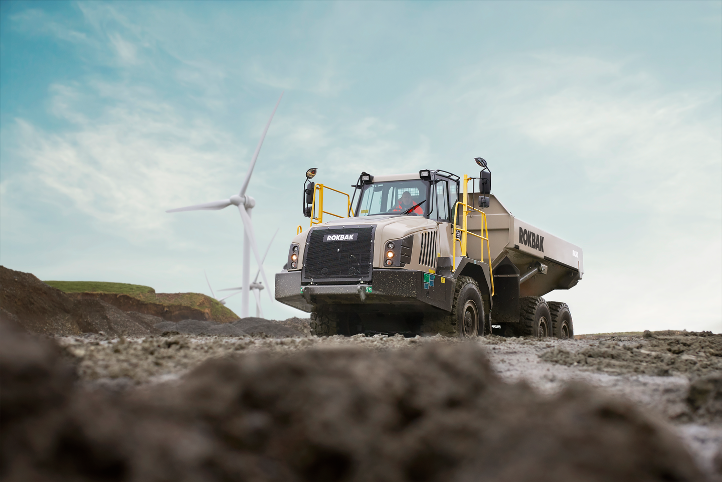 Volvo says the two Rokbak models, the the 30.9-ton RA30 and the 41.9-ton RA40, offer better fuel economy, lower emissions, improved safety and greater durability than the previous Terex Truck models.