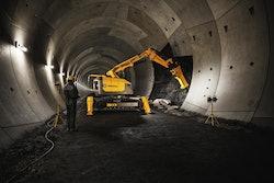 Brokk Tunneling Attachment