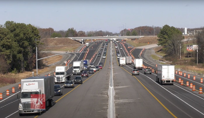Widening I-65 Tennessee begins