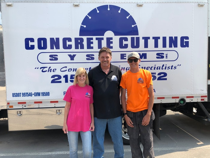 Concrete Cutting Systems 2021 Safety award winner